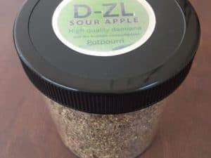 Buy DZL SOUR APPLE Incense UK (72G)