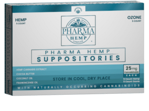 Buy Hemp CBD Suppository 25mg Online UK