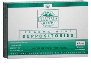 Buy Hemp CBD Suppository (75mg) Online UK